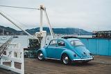 VW Volkswagen Beetle Bug on Pier