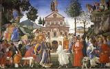 tentaciones de Cristo Botticelli