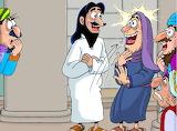 10. Jesús sana a una mujer