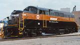 Train Locomotive Monon BL2 32