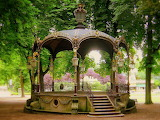Bandstand at the Pepiniere Park, Nancy, France
