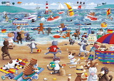 Cats on Holiday - Peter Adderley