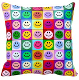 Pillow that smiles