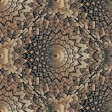 #Copper Textured Greek Pattern