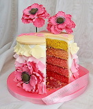Flowery cake @ Craft Company