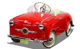 Rosca Fiat 600 a pedali