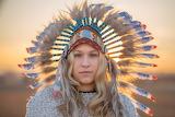 Native American Queen @ Pixabay...
