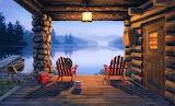 Fishing Cabin - Darrell Bush