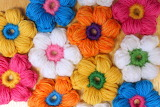 Цветочный коврик