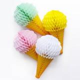 paper cones.......................................x