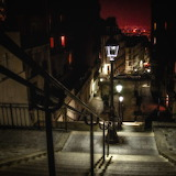 """Cityscape tumblr dogstardreaming """"Quiet Night in Montmartre"""" """"ph"""