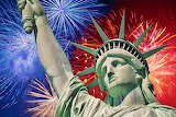 #Lady Liberty Fireworks Display