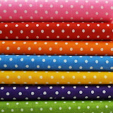 ☺ Colorful fabrics...