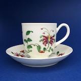 Porcelain-honeysuckle-or-hibiscus-pattern-tea-cup-saucer
