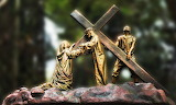 Station-of-the-cross-Jesus-Mary-religion