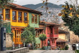 colored street in Turkey