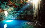 Cenote Samula near Valladolid. Yucatán Peninsula. Mexico