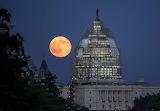 Blue moon over Washington, NASA