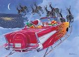 Santa's 1957 Chevy Sled