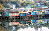 Chiloé island off coast of Chile