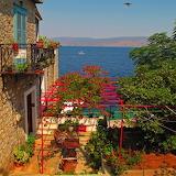 Greece Houses Sea Hydra 501403