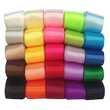 Color rainbow ribbon