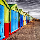 Colorful Beach Houses...