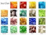 Colorful Seaglass Rarity Chart