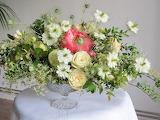 Flowers, Vase, Roses, Nigella, Bouquets, Peonies, table