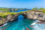 Broken Beach-rock arch- Bali