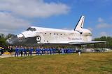Discovery and Astronauts who flew on her.