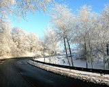 Winter mountain road2
