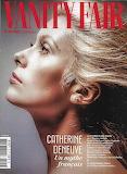 Vanity Fair / couverture Catherine Deneuve