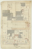 Plan of Collingwood Town Hall, 1885 (State Library of Victoria)