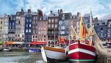Port of Honfleur, Normandy, France