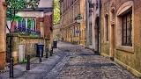 Old street in New York