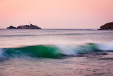 Godrevy Lighthouse from Gwithian Beach. Kernow
