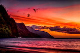 Spectacular hawaii sunset-mike neal
