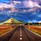* Road in New Zealand...