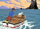 6 - Tintin  et  l'Ile  noire - 1