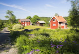 Red cottages - Royaltyfree from Piqsels id-oufod