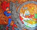 Scrooge and Superman