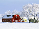 Winter Barn @ wallpapersafari.com...
