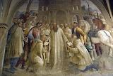 Abbazia Monte Oliveto Maggiore Siena affresco Riccio 20 Mauro e