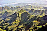 Semien Mountains in northern Ethiopia