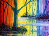 Rainbow reflections, credit: annmariebone(dA)