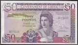 Gibraltar 50 Pounds 1986