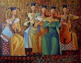 Forgotten Melody 2013 oil canvas by Zayasaikhan Sambuu - WooArts