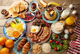 breakfast buffet full continental