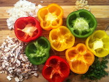 ^ Bell pepper meal prep